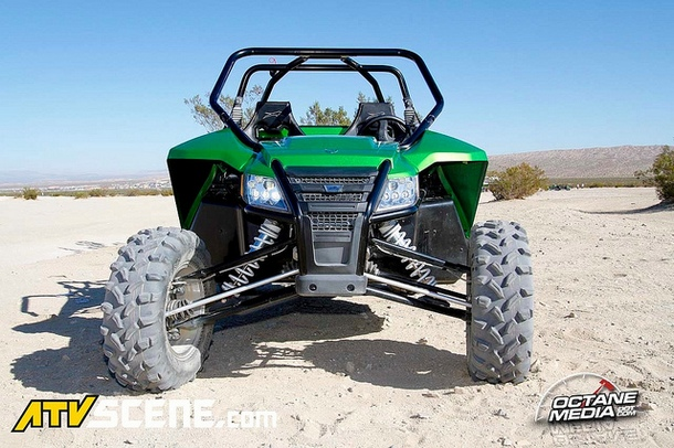 """At only 64"""" wide, this is still a trail capable machine."""