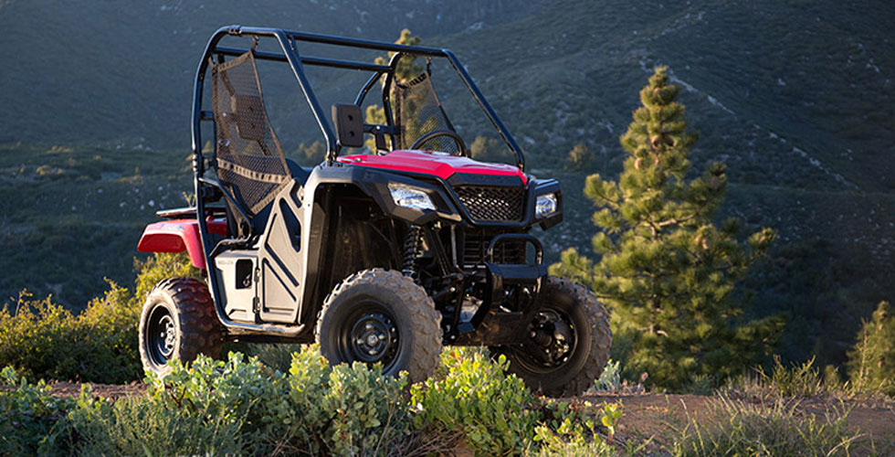 compact affordable and fun the new 2015 honda pioneer 500 side by side utv scene magazine. Black Bedroom Furniture Sets. Home Design Ideas