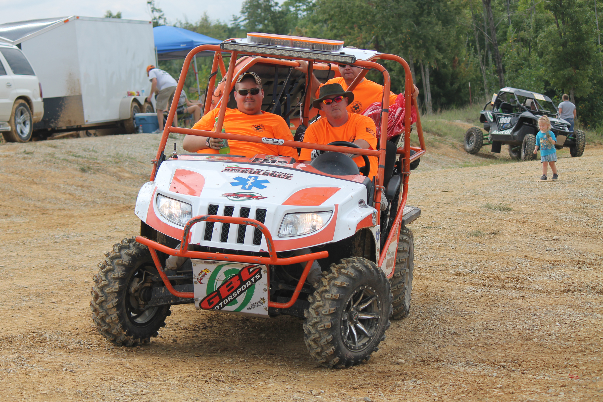 GBC supplied the Brimstone EMS crew with a SXS ambulance for last year's event.