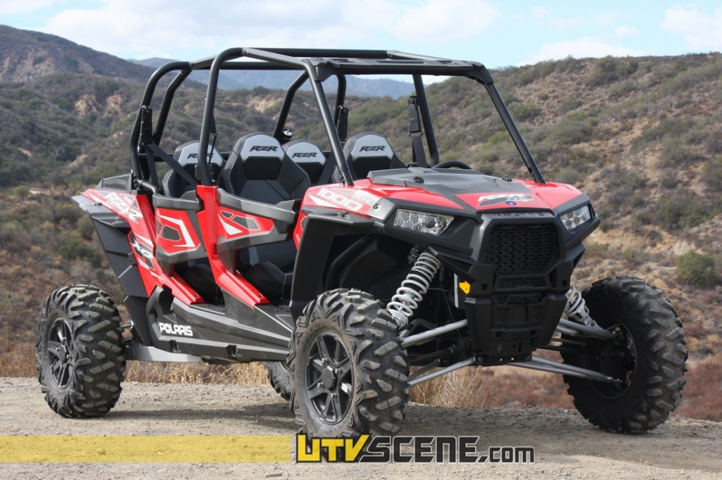 utv scene 39 s polaris rzr xp 4 1000 break in utv scene magazine. Black Bedroom Furniture Sets. Home Design Ideas