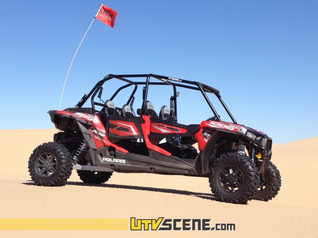 Poised & ready, the incredible Polaris RZR XP4 1000!