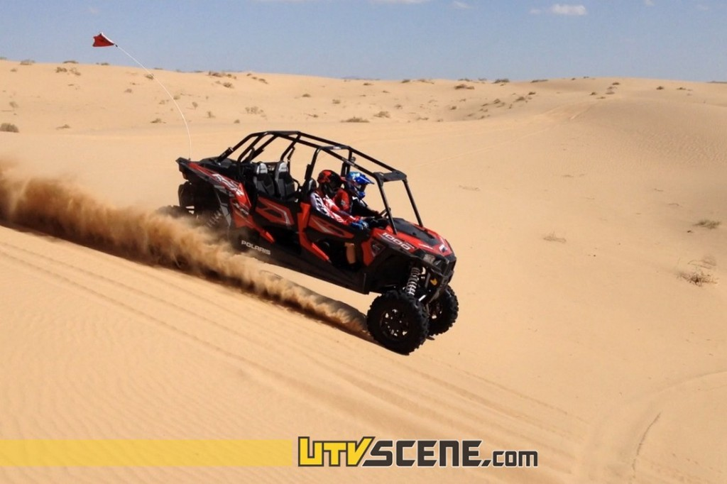 With the astonishing 107hp Pro Star DOHC engine the XP4 effortlessly rips through the dunes!