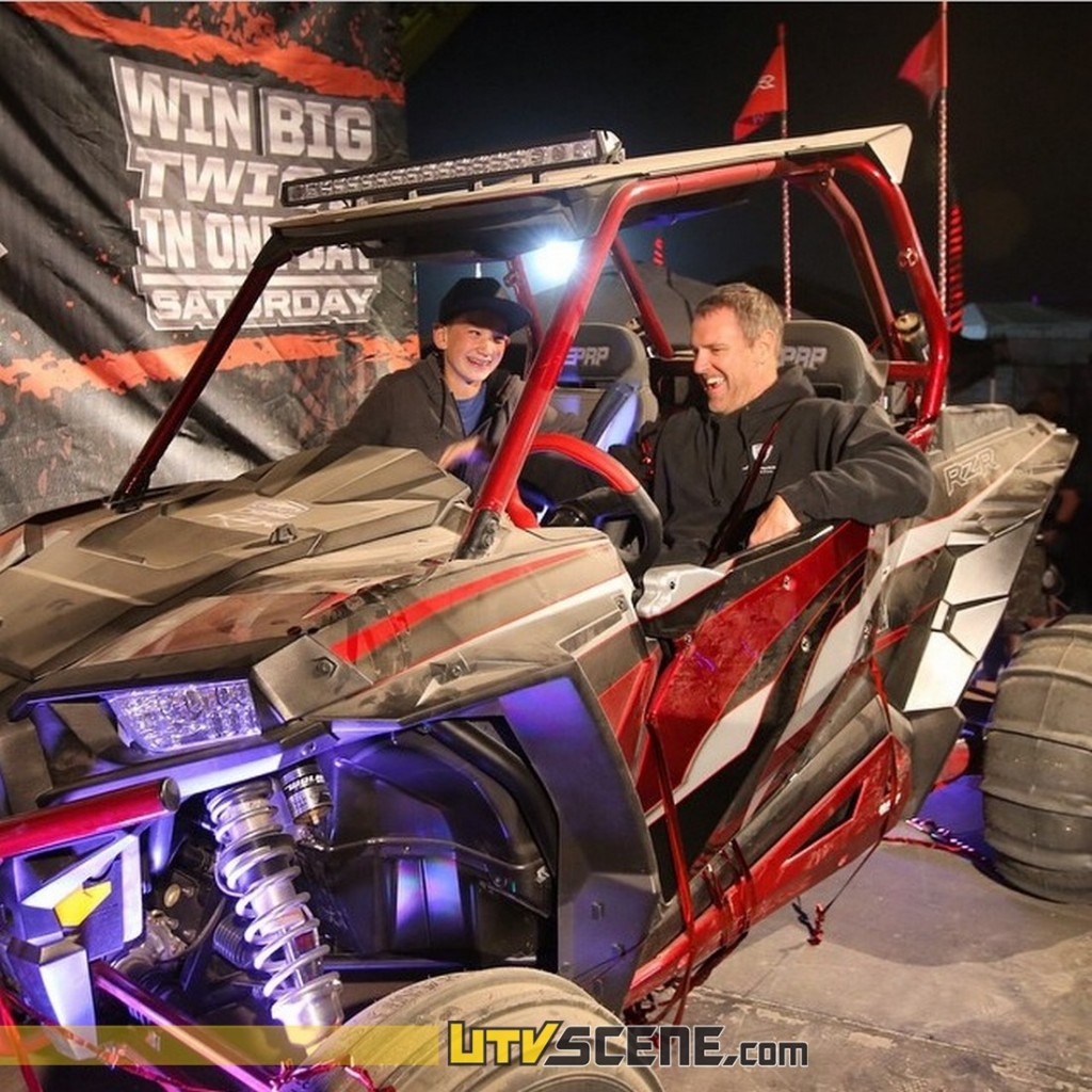 Congratulations to Joe F. of San Diego for winning the custom RZR!
