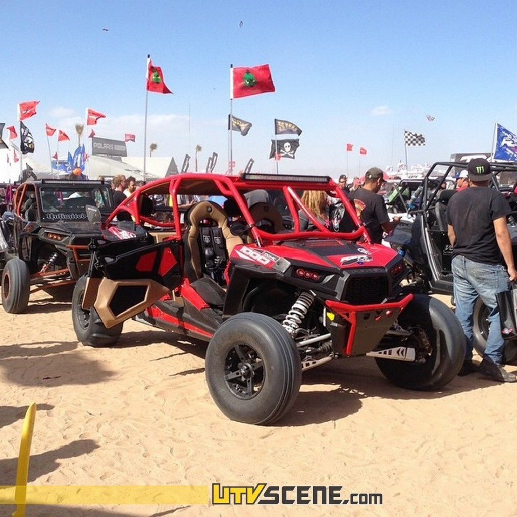 The Show & Shine competition was literally a sea of incredible custom Polaris RZRs!