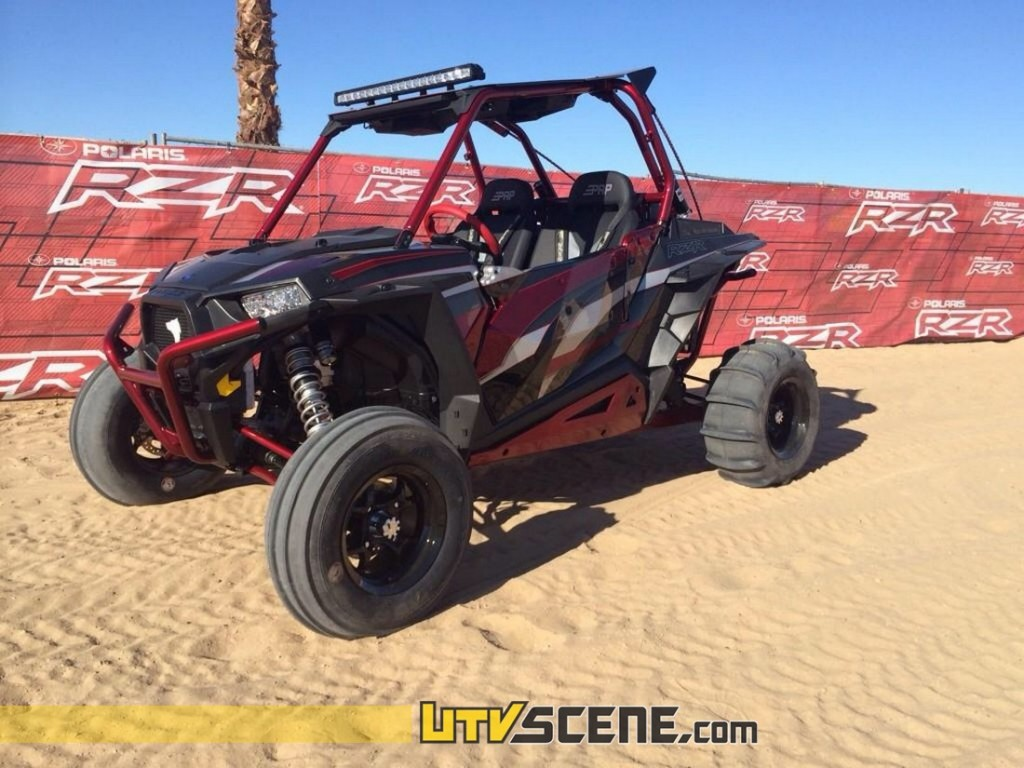 Every guest who registered into Camp RZR was entered to win this decked out custom RZR XP1000!