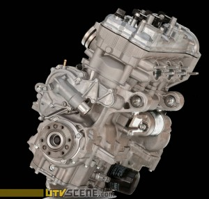 You get the same 3-cylinder, 12-valve, DOHC, liquid cooled, 998cc engine, which outstanding power characteristics, especially at peak rpm, but when it's delivered through the Yamaha Chip Controlled Shift system (YCCS) there seems to be more power delivered to the tires throughout the power-band simply because fingertip shifting to the correct gear in any situation is so precise and effortless.