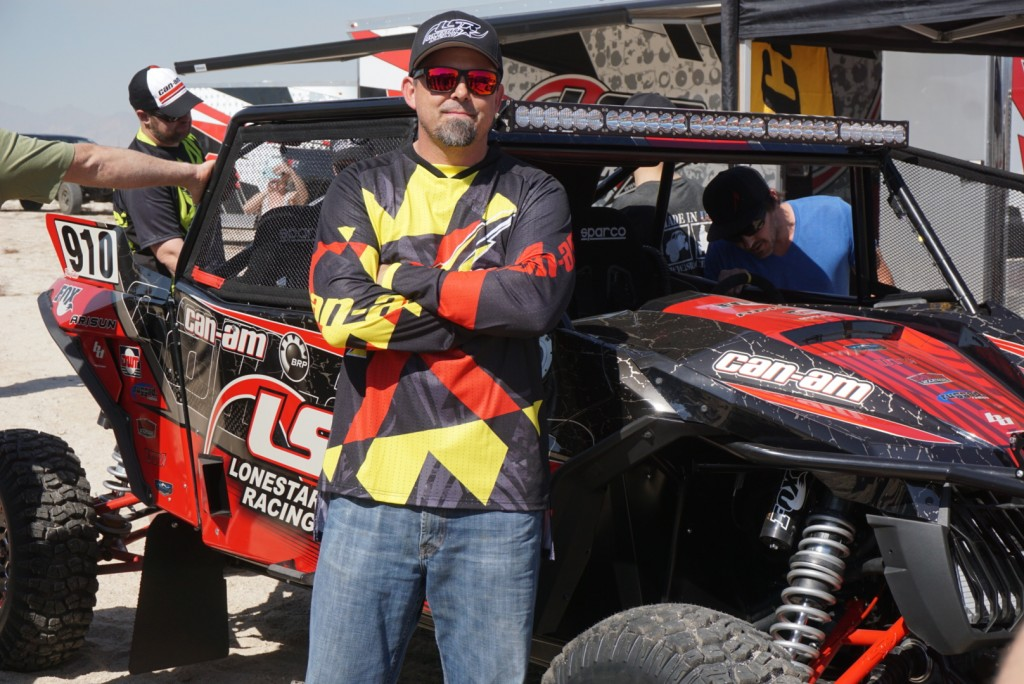 Can-Am Collaborates with Beard Seats and LoneStar Racing