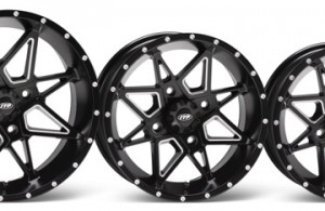 The highly attractive ITP Tornado wheels, which feature an automotive-like center section, are available 14-, 15- and 17-inch sizes.