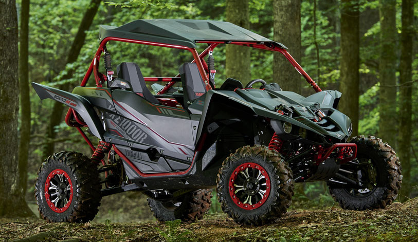 As I've said in prior reviews of the YXZ, you get some of the best suspension in the business! The YXZ1000R SS models boast fully adjustable long travel FOX 2.5 Podium Shocks with 16-inches of travel in front and 17-inches out back. But if you upgrade to the YXZ1000R SS Special Edition model (seen above), you'll get bar none, the best shocks available from any manufacturer or aftermarket! The SE uses industry-first twin-wall FOX 2.5 Podium X2 Shocks. These unparalleled shocks were developed in tandem with Yamaha specifically and exclusively for the new Special Edition YXZ models. For more on these incredible shocks view the video below. And yes, you can purchase these shocks without buying a new machine from your local Yamaha dealer.