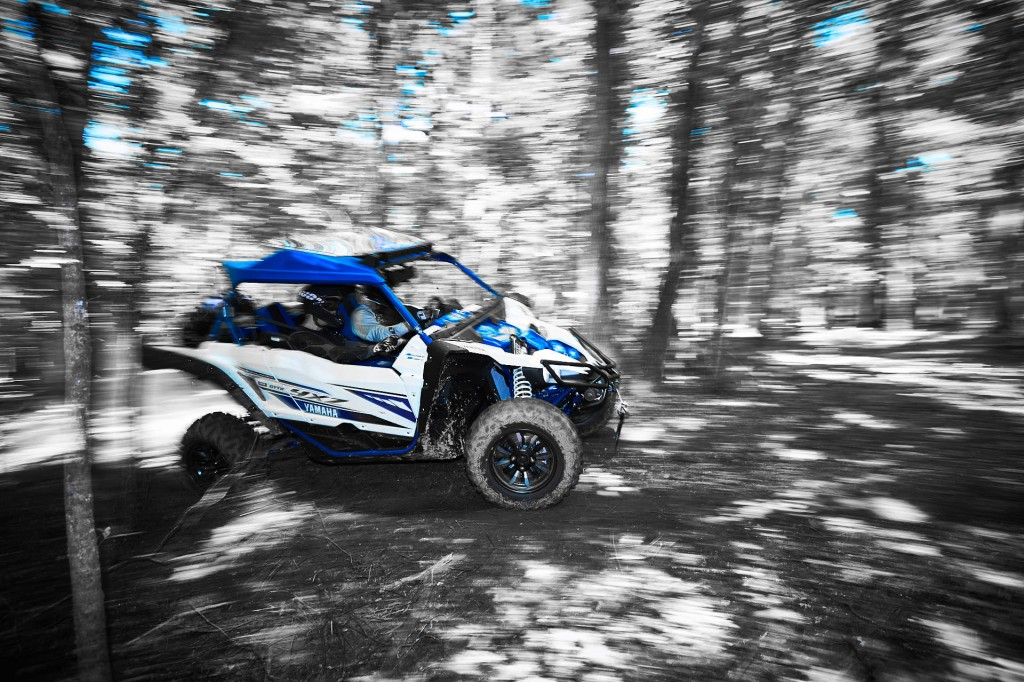 Optimized frame dimensions result in the best handling sport SxS ever! Meanwhile, the under-frame protection employs lightweight and extremely durable Thermoplastic Olefin to provide the best impact resistance, flexibility and wear reduction, while simultaneously allowing the vehicle to easily glide over obstacles encountered on the trail.