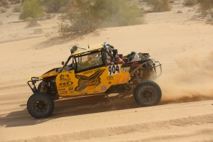 The Desert Toyz / Can-Am Maverick team of brothers Cory and Scott Sappington posted a thrilling 1-1 two-day score card to win the Best In The Desert BlueWater Desert Challenge in Arizona.
