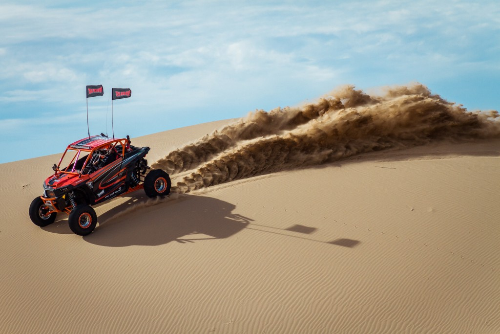 The Skat-Trak tire combination provides the perfect combination of traction, handling, and flotation for the RZR XP.