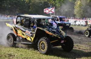 Ohio's Cohl Secoy became the first person in GNCC racing history to win an overall GNCC UTV race with a Yamaha YXZ 1000R.