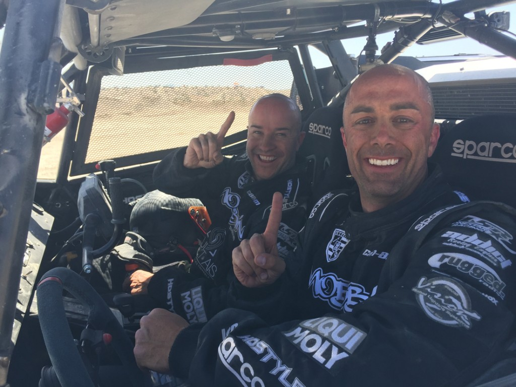 St. George, Utah's Michael Isom and co-pilot Zack Cooper were the top finishing Pro Unlimited UTV team in the Safecraft UTVWC long course desert race. Isom's time of 03:35:17.838 beat the runner-up finisher (also in a Can-Am Maverick X3 vehicle) by almost 20 minutes.