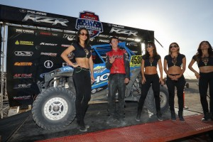 Ryan Holz owned the 2nd fastest time in the Short Course UTV World Championship.