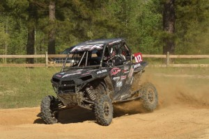 The Polaris RZR XP 1000 handled the rough conditions with ease