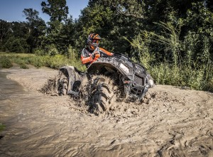 2018 Sportsman 850 High Lifter Edition in Cruiser Black