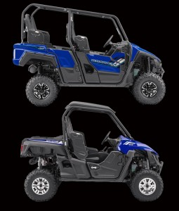 Somehow Yamaha managed to build a 4-seat Wolverine with a wheelbase that measures only an inch and a half longer than their 2-seater Wolverine, which makes this new machine the most nimble and trail-ready 4-seater UTV in the industry.  If you would like to learn more about Yamaha's 2-seat Wolverine, be sure to check out my Wolverine R-Spec Ride Review.