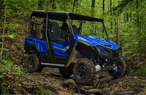 2018 Wolverine X4 - Blue with Accessories