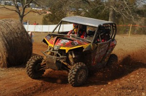 Matt Rowell took his Game On Can-Am Maverick 1000R to a third-place finish in the XC1 Modified SxS class at round of the GNCC SxS Championship series in Georgia.