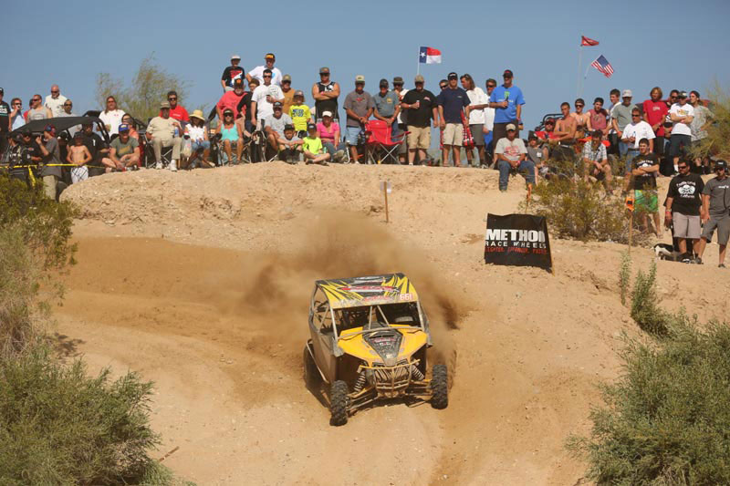 Del Amo Motorsports / Can-Am racer Kyle Melville drove his Maverick 1000R side-by-side to second in the SxS 1000 class at round three of WORCS in Arizona.