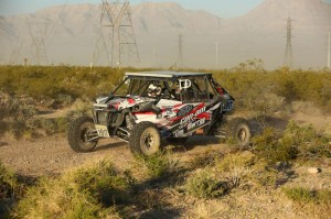 Derek Murray and his team took the No. 1917 Can-Am / ITP / Murray Racing Maverick MAX 1000R X rs DPS to a solid top-five finish at the Mint 400
