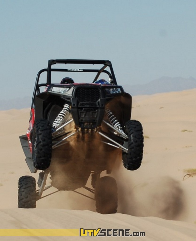 The incredible power of the XP4 is accompanied by seemingly bottomless suspension!