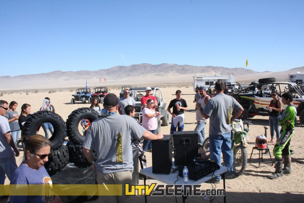 The second ride was going to be a little more challenging so a riders meeting was necessary to insure everyone got through the ride safely and the car in one piece.