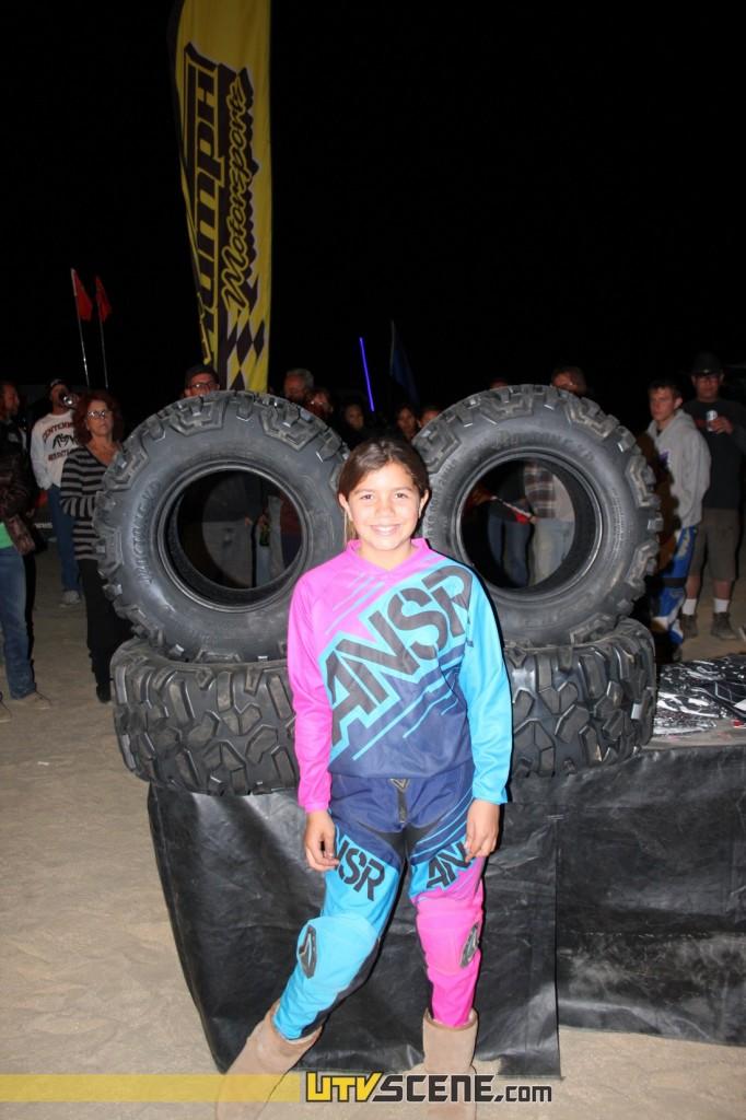 Winner of the STI Roctane tire giveaway