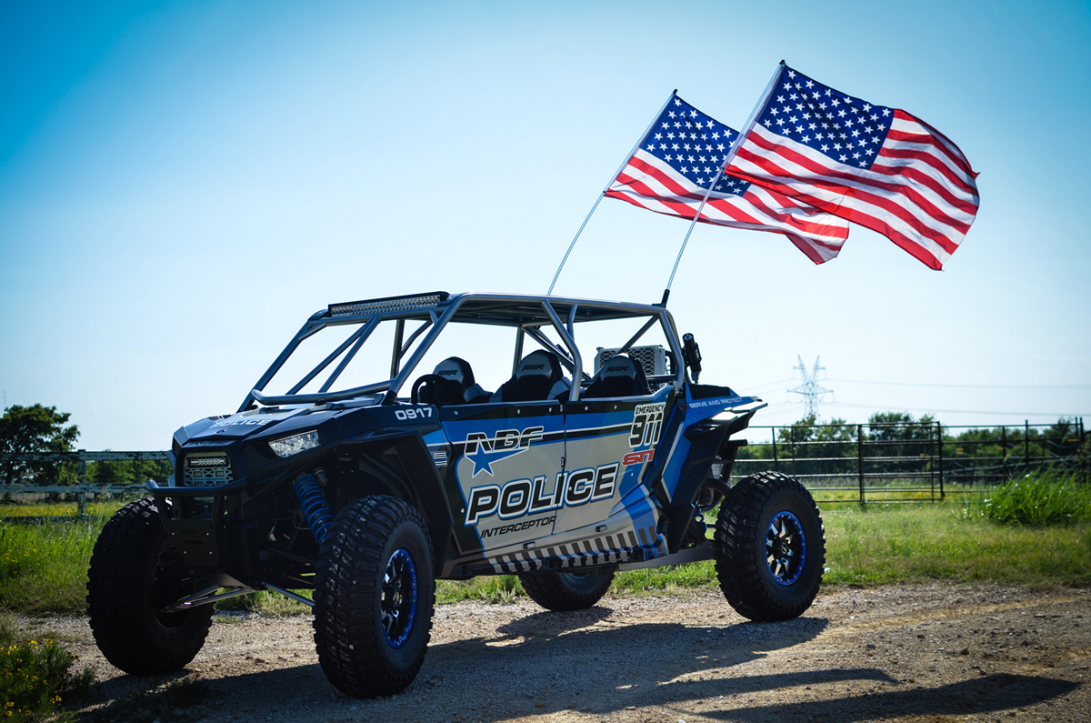 Abf Fabrication Police Interceptor Polaris Rzr Xp4 1000