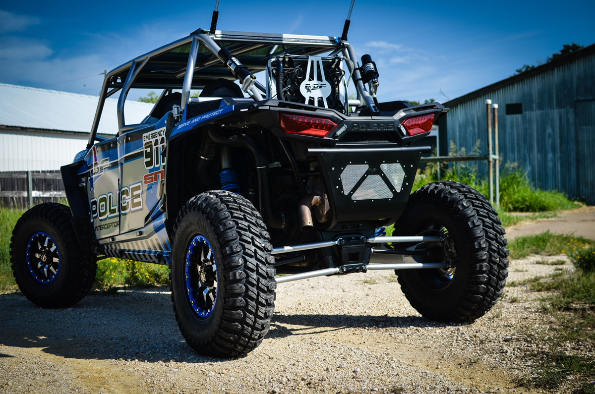 Polaris General 1000 >> ABF Fabrication Police Interceptor - Polaris RZR XP4 1000 ...