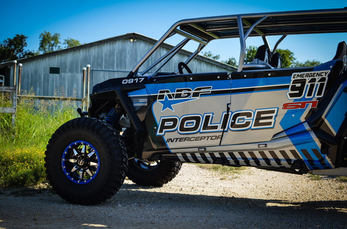 Polaris Ranger Xp >> ABF Fabrication Police Interceptor - Polaris RZR XP4 1000 - UTV Scene Magazine