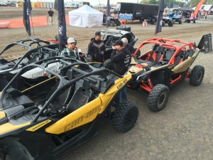 Warning, o first site, do not stare directly at Can-Am's new Maverick X3s in person, the look of this machine can put you in a trance.