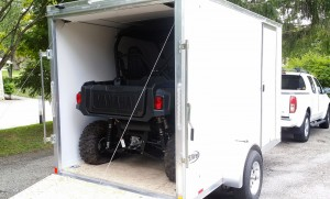 "The Wolverine R-Spec just fits under the door opening of my trailer, which measures 72 1/4"" in height, but the new X4 won't fit."