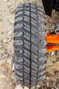 STI Chicane RX Tires feature a deep lug split knob non direction tread.