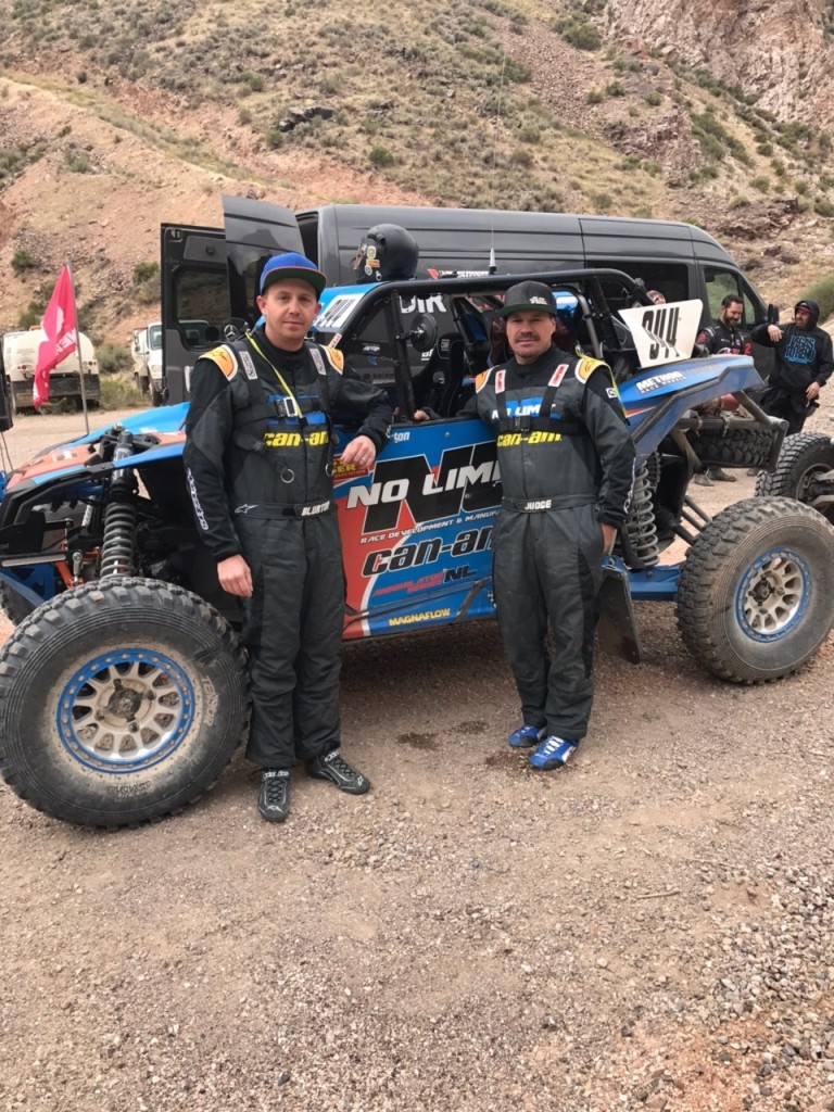 Phil Blurton (with co-pilot Beau Judge) kept up his recent momentum behind the wheel of his No Limit / Can-Am Maverick X3 desert racer by, once again, finishing on the BITD Pro UTV class podium. This time he earned second in the class at the Silver State 150.