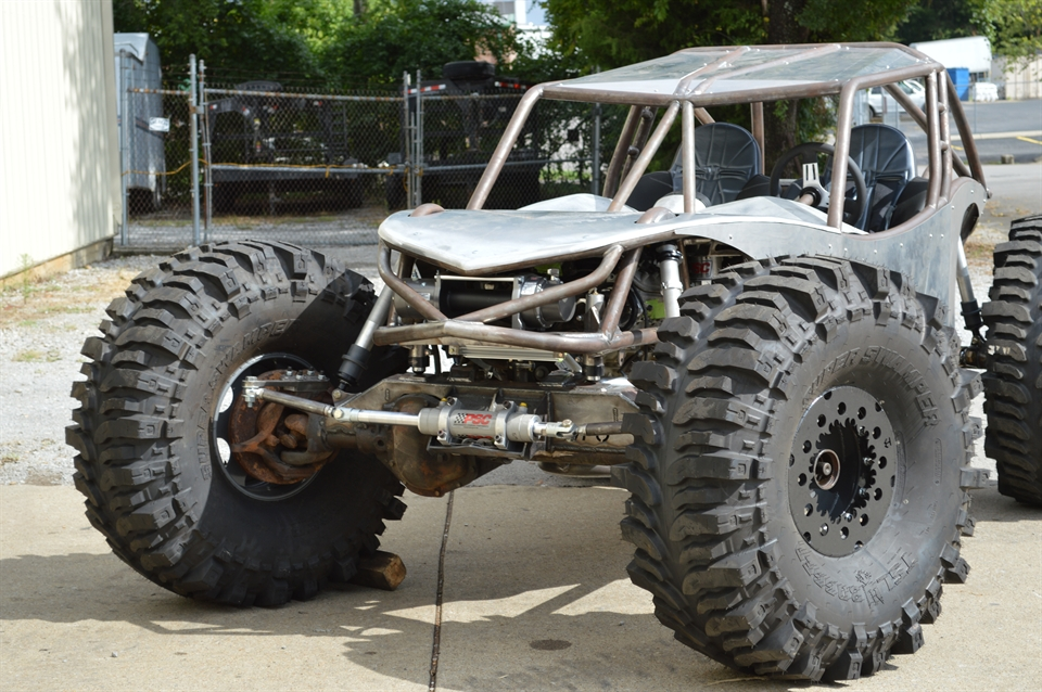 This is one of many jaw-dropping machines built by Adam and his team at Wide Open. Yeah, they have you're UTV needs more than covered!