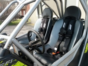 Get your priorities straight. A good cage, harnesses and seats should be the first and most important thing you do to your UTV.